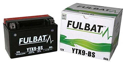 Batería FULBAT AGM YTX9-BS 12V 8Ah 120A Largo: 150 x Ancho: 87 x Alto 105 (mm)