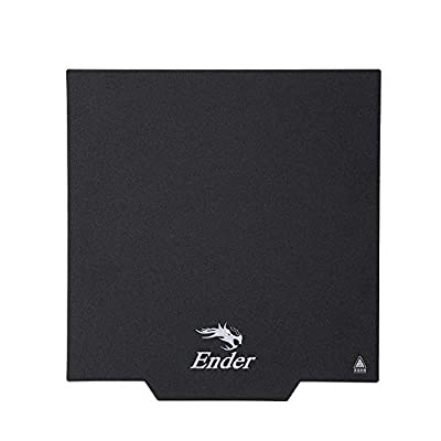Aibecy Creality Ender-3 Upgrade Magnetic Build Surface Plate Sticker Pads Ultra-Flexible Removable 3D Printer Heated Bed Cover 235 * 235mm for Ender-3/Ender-3S/Ender-3 pro/CR20 3D Printer