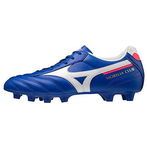 Mizuno Morelia II Club MD, Scarpe da Calcio Uomo, Reflex Blue C/White, 42 EU