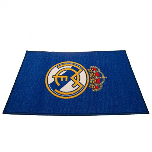 Real Madrid CF - Alfombra (Talla Única) (Azul)