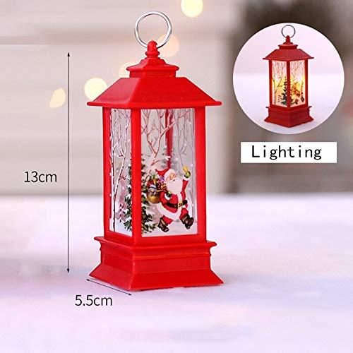 Christmas Decorations Candle with LED Tea Light Candles for Christmas Decoration Party C