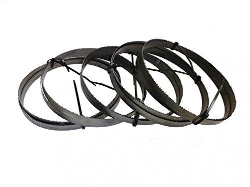 2er SET Bi-Metall Sägeband 1638 x 13x0,65 mm 8//12 u 10//14 ZpZ z.B Optimum Epple