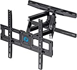 TV Wall Mount Dual Articulating Arms, Full Motion Swivel Extension Tilt TV Mount, Fits for Most 26