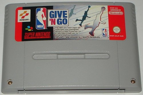 NBA Give 'N Go (SNES) lose