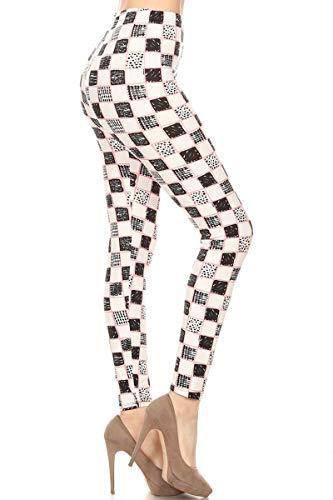 S638-OS Wild Heiress Printed Fashion Leggings, One Size