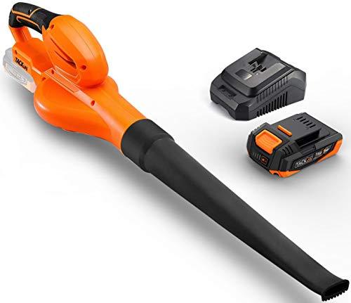 TACKLIFE 18V Cordless Leaf Blower, Weight-1.15KG, Low...