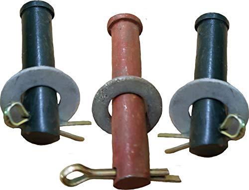 """Bolzen Satz für Schwengelpumpe """"schlicht oder nostalgie"""" Typ 75 - = - Sonstige Ersatzteile wie Schwengel Schwengelhalterung Pumpenkörper Flansch Kolben Dichtungen finden sie auch bei uns!"""