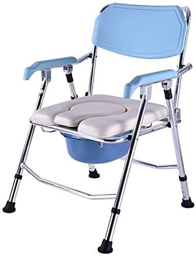 HMMN Silla de Cocina Plegable de aleación de Aluminio, Silla de baño de Maternidad para discapacitados para discapacitados