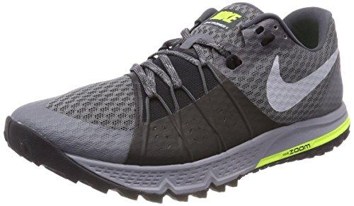 Nike Air Zoom Wildhorse 4, Zapatillas de Trail Running para Hombre, Gris (Dark Grey/Wolf Grey/Black/Stealth 001), 41 EU