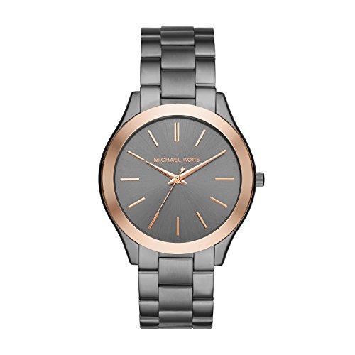 Michael Kors Herren Analog Quarz Uhr mit Edelstahl Armband MK8576