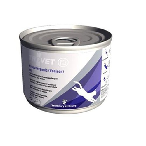 Trovet Hypoallergenic VRD (Venison) Katze - 12 x 200 g Dosen