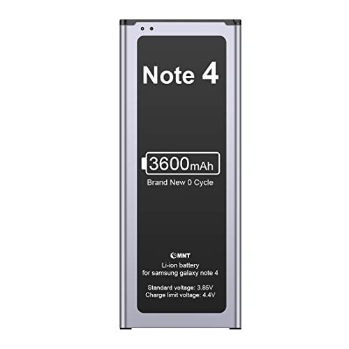 EMNT Battery Compatible Samsung Galaxy Note 4 3600mAh Battery Note 4...