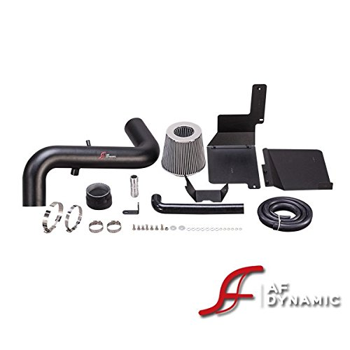 R&L Racing Black AF Dynamic Air Filter Intake Kit 2013-2017 for Hyundai Veloster Turbo