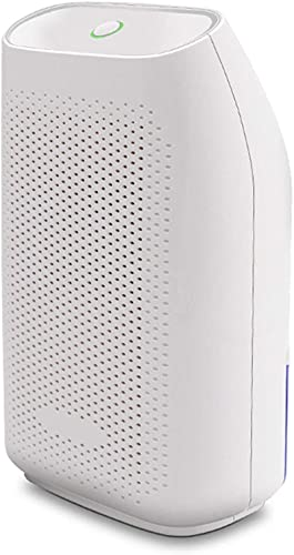 Deumidificatore domestico, ultra silenzioso piccolo deumidificatori portatili con spegnimento automatico per cantina, bagno, camper, ufficio