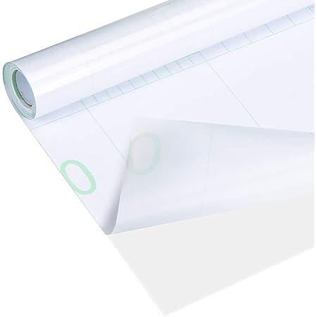 Transparent Film Adhesif,Papier Peint Autocollant,40x 500cm Transparent Papier Adhesif Résistant à l'Huile Étanche,Papier Adhesif Transparent pour Meuble,Pour Protection Mur Cuisine