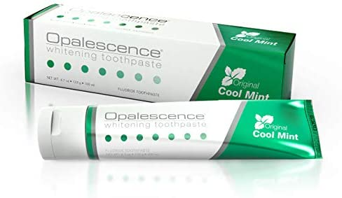 Opalescence Whitening Toothpaste Original Formula - Oral Care, Mint Flavor, Gluten Free - 1 Pack