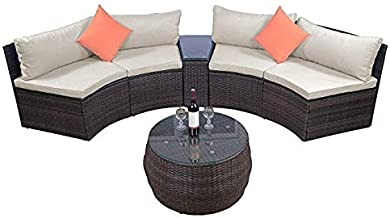 Best curved outdoor couch Reviews