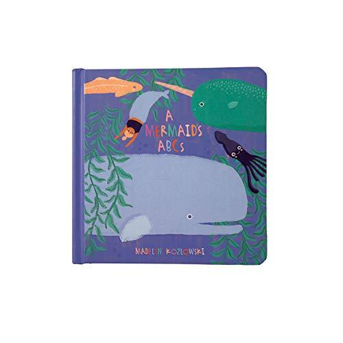 Manhattan Toy Livre de bébé Abc's Mermaid, partir de 6 Mois, 217490, Multicolore