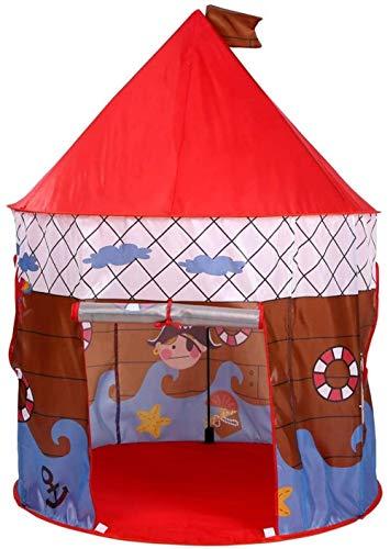 GYPPG Pirate Captain Castle Bootsspiel Zelt Boy - Pirate Captain Insect Screen Faltbarer Innen- und Außenbereich