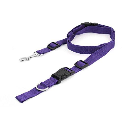 sourcingmap verstellbar Nylon Pet Halsband Hundeleine Leine mit Clip