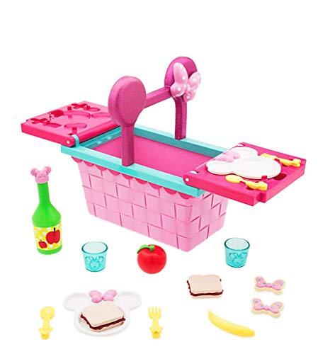 Disney Junior Minnie Maus Picknickkorb Spielset – 18 teilige Set