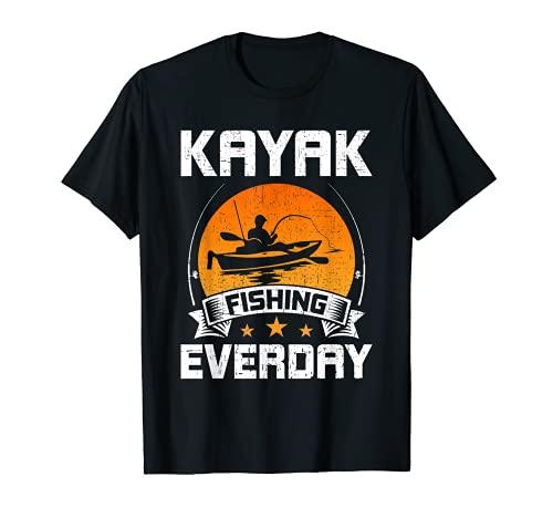 Kayak Pesca diaria con mosca Camiseta