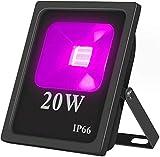 20W UV LED Foco Luz IP66 resistente al agua, alta potencia UV fosforito 85-265 V AC para aushärtung, pegamento, fosforito, Pesca, partes, de negocios, ausstellungs Center, Gemälde Pesca, Acuario