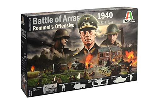 Italeri 510006118 1: 72 WWII Juego: Battle of Arras \'40