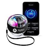 75PAI Power Wrist Ball, Auto-Start Smart Gyro...