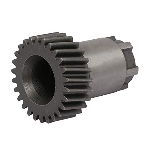 DealMux - Herramienta eléctrica de engranaje cónico en espiral de 6 dientes de 23 mm x 28 mm para taladro de martillo Bosch GBH2-24