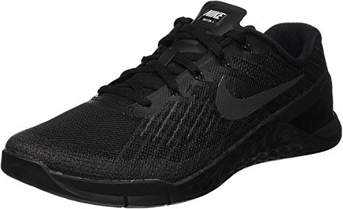 Nike Men's Metcon 3 Trainers, Black (Black/Black), 5.5 UK 38.5 EU