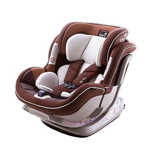 Kiwy 14012 NOAH SF012 Kindersitz 3-Punkt-Gurt, 0-25 kg, rot