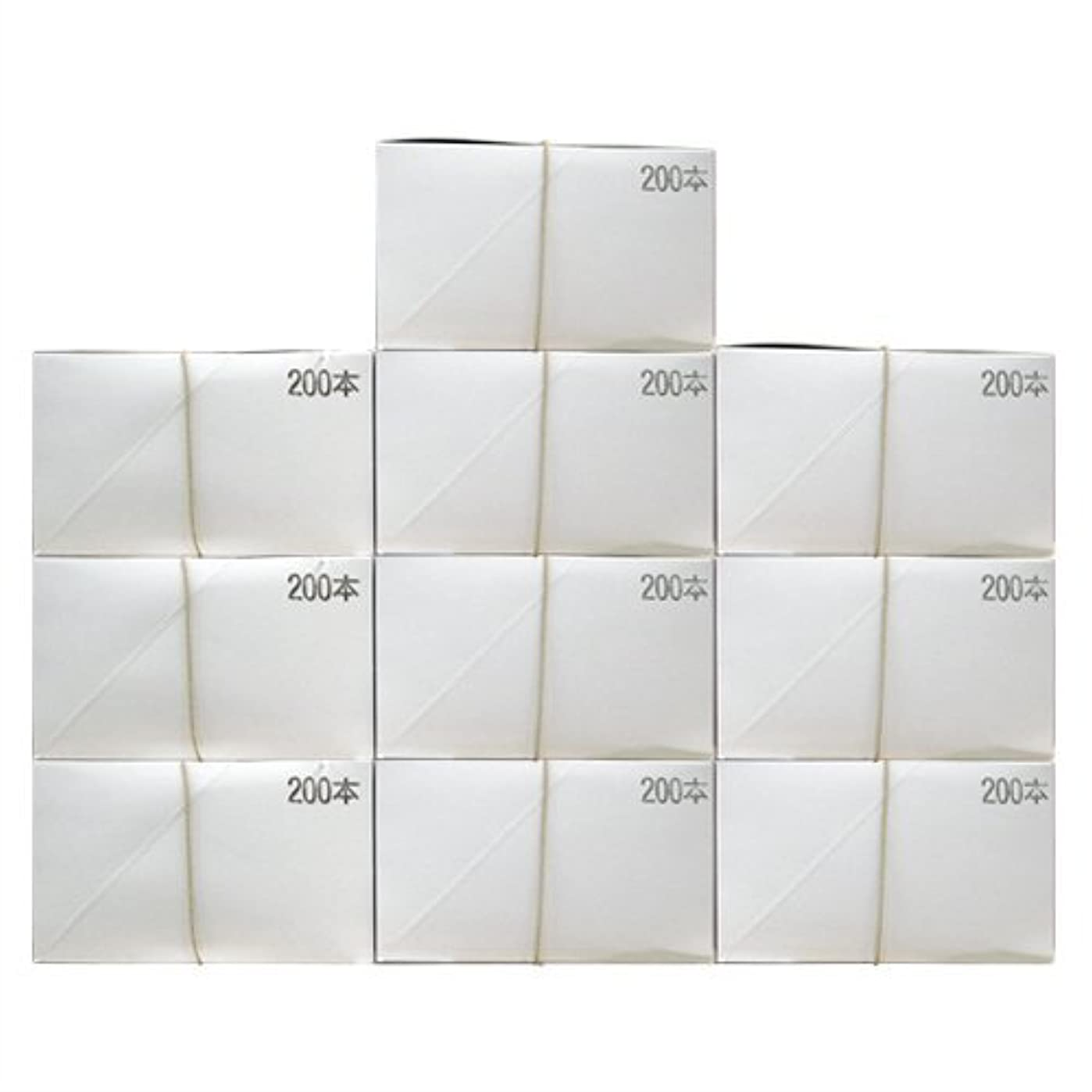 致命的神社線業務用 日本製 使い捨て粉付き歯ブラシ 個包装タイプ (2000本入)│ホテルアメニティ