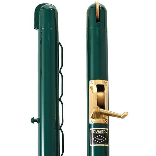 "Classic Round Posts 2 7/8"" - Green (Pair)"