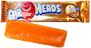 Airheads Taffy Candy Bars, Orange, 0.55 Oz /15.6 G (Pack of 72)