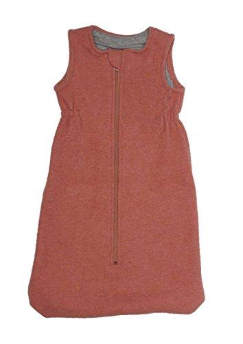 Disana Baby Walk-Schlafsack aus Bio-Wolle/Bio-Baumwolle (03 = 100 cm, rosé)
