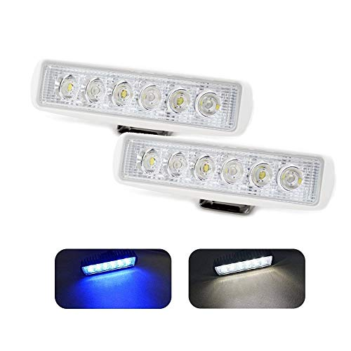Jiawill Dual Color Marine LED Spreader Flood Deck Light
