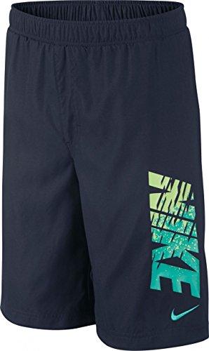 Nike GFX Swim Short Yth–Bañador Obsidian/LT Retro, multicolor, extra-large