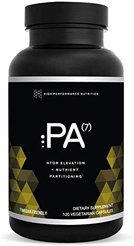 PA(7) Phosphatidic Acid Muscle Builder by HPN | Top Natural Muscle Builder - Boost mTOR | Build Mass and Strength from Your Workout | 10 Day Supply