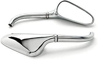 Krator Chrome Motorcycle Golf Club Mirrors Free Adapters For Honda Valkyrie Rune 1500 1800