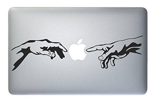 ADESIVO MACBOOK Michelangelo - - Apple Macbook Laptop Decal Sticker Art Painting Design Vinyl Mac Pro Air Retina 11' 13' 15' 17' Decor Stickers (11' - 13' MACBOOK)