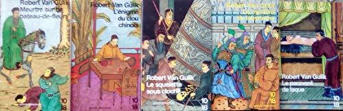 Meurtre sur un bateau de fleurs/ L'énigme du clou chinois/ Le squelette sous cloche/Le mystère du labyrinthe/ La paravent de laque.