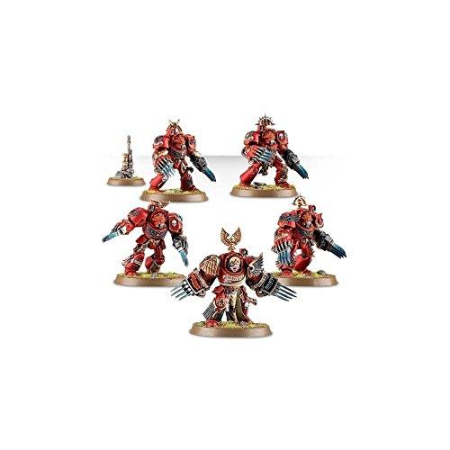 Games Workshop - 41-13 Blood Angels Terminator Assault Squad