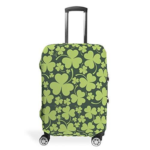 Funda protectora para maletas de viaje de San Patricio, 4 tamaños para muchos maletines, White (Blanco) - STELULI-XLXT-24