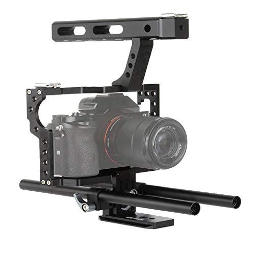 jfhrfged Veledge Vd-07 Rod Cage Kit Rig DSLR Kamera Stabilisator für Sony Gh4 A7S A7 A7R A7Rii A7Sii langlebige Kamera Zubehör