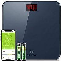 Báscula de Baño Báscula Inteligente Bluetooth Báscula Digital con IMC de Alta Precisión, Monitore...