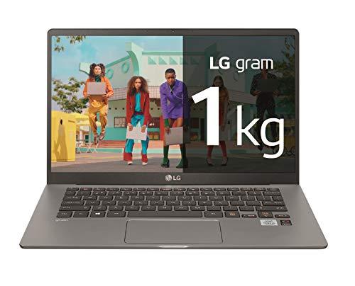 "LG gram 14Z90N-V-AA78B - Ordenador portátil ultraligero de 14"" FullHD IPS (Intel Core i7-1065G7, 16GB RAM, 512GB SSD, Windows 10 Home+) Plata - Teclado QWERTY Español"
