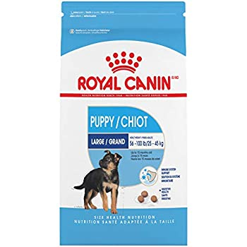 Royal Canin Large Puppy Dry Dog Food 18 Lb.