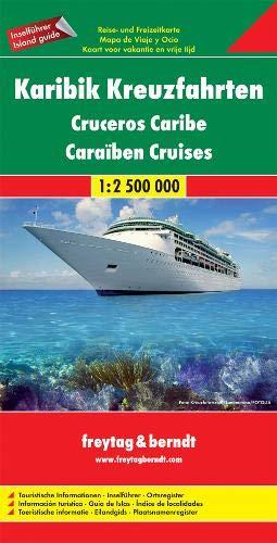 F&B Caribische Cruises: Toeristische wegenkaart 1:2 500 000