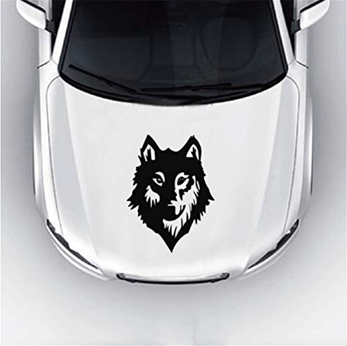 aufkleber design auto Wolf Wild Dog Motorhaube Aufkleber Cool Cartoon Tier Auto Aufkleber für Motorhaube Fenster Tür für Auto Laptop Fenster Aufkleber